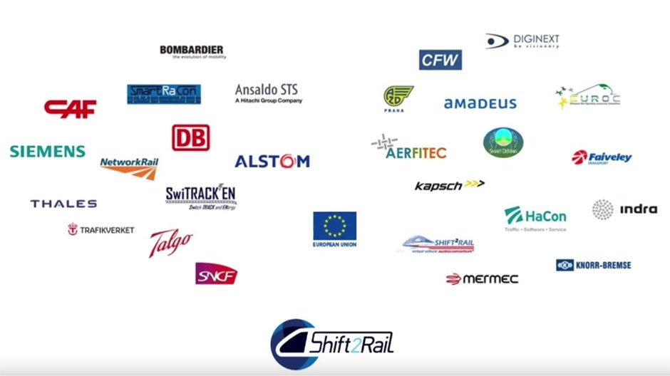 Partner im Shift2Rail Konsortium