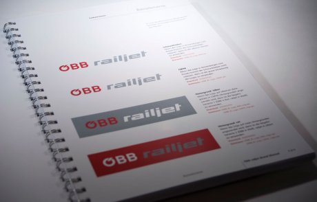 OEBB railjet Brand Manual